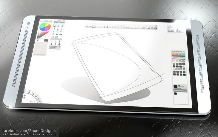 Koncept tabletu HTC Babel