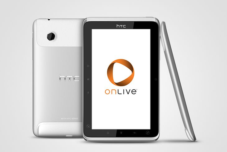 HTC Flyer OnLive