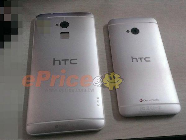 HTC One Max obok One'a