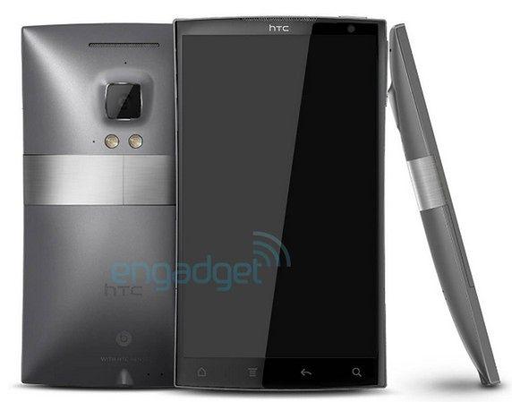 HTC Zeta | fot. engadget.com