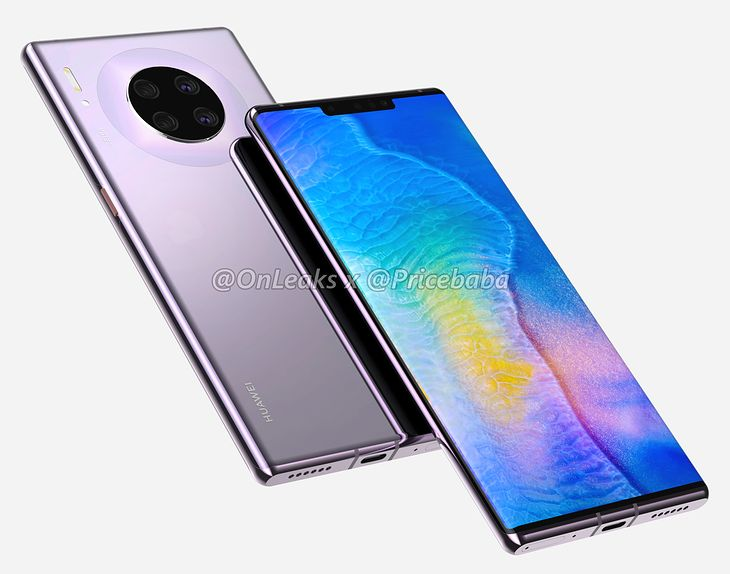 Tak ma wyglądać Huawei Mate 30 Pro