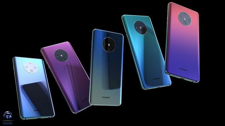 Huawei Mate 30 Pro - koncepcyjna wizualizacja