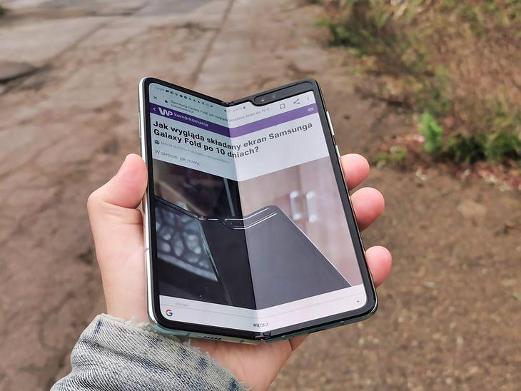 Na zdjęciu Samsung Galaxy Fold