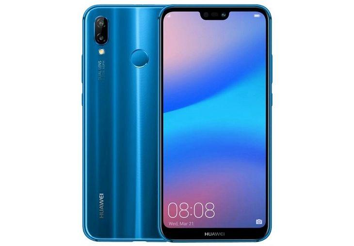Huawei P20 Lite looks like an iPhone X