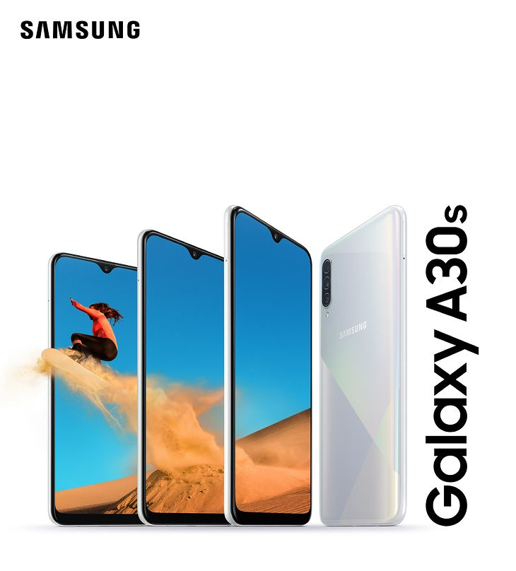Samsung Galaxy A30s w wersji białej Prism Crush White