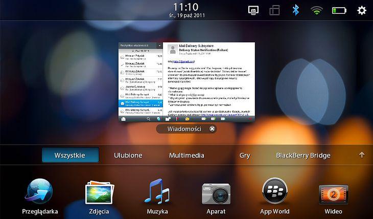 BB Tablet OS- multitasking