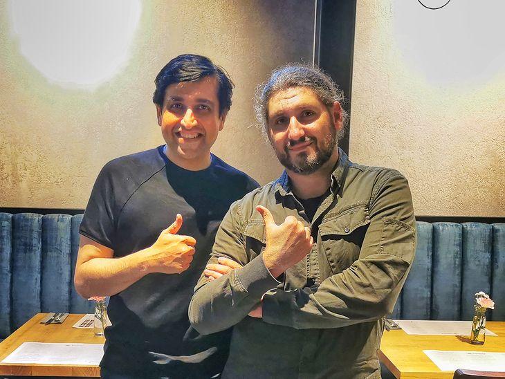 Madhav Sheth z Realme z autorem wywiadu