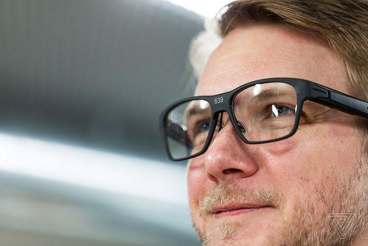 Inteligentne okulary Intel Vaunt theverge.com