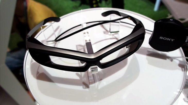 Inteligentne okulary Sony