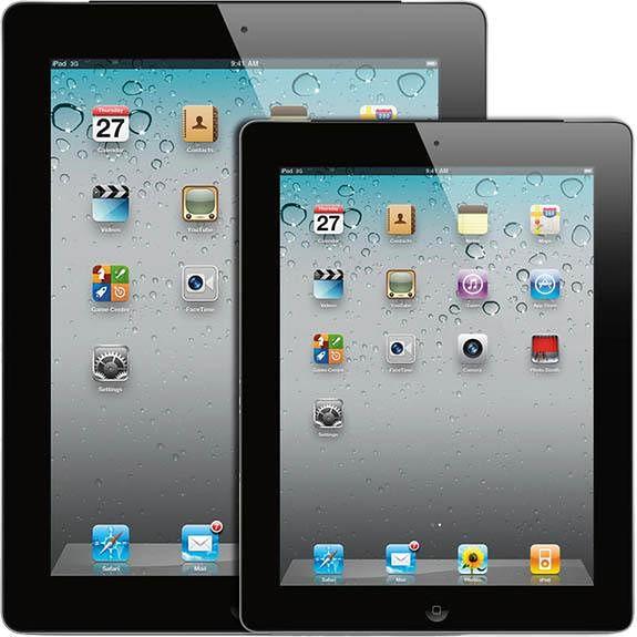 Apple iPad i iPad Mini (fot. Ubergizmo)