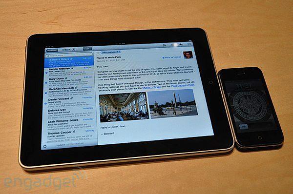 Wkrótce iPhone urośnie, a iPad zmaleje? (fot. EnGadget)