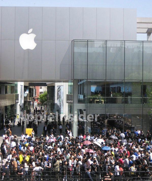 Chińska premiera iPada 2