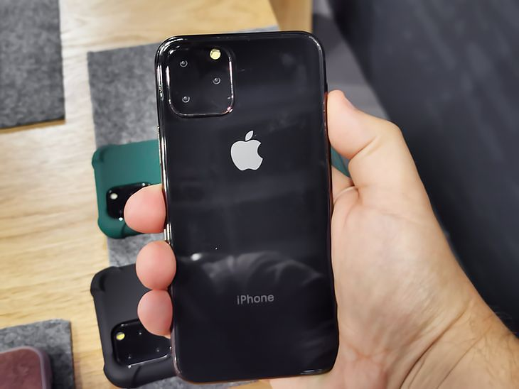 The early model of the iPhone 11 looks a bit different than the final product