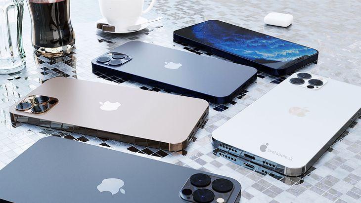 iPhone 12 Pro: wizualizacja na podstawie przecieków