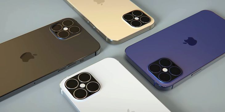 iPhone 12 Pro - wizualizacja na podstawie przecieków