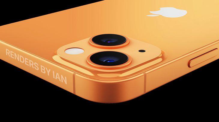 iPhone 13 - wizualizacja na podstawie przecieków