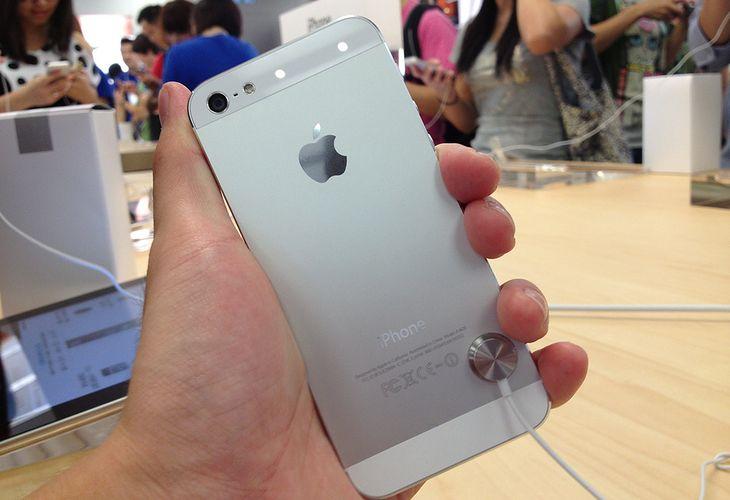 iPhone 5 (fot. LJR.MIKE)