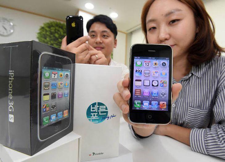 iPhone 3GS powraca na rynek