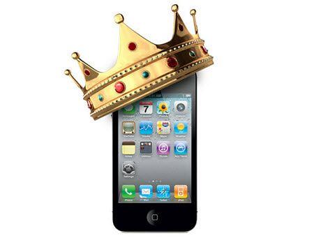 iPhone znów królem rankingów (fot. tech2date.com)