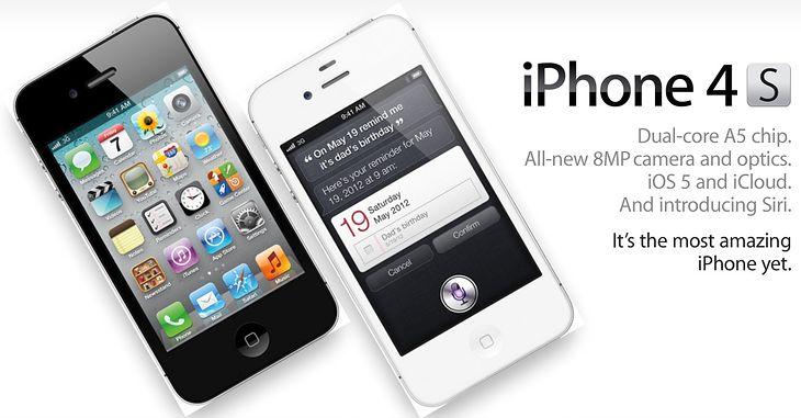 iPhone 4S najlepszym iPhone'em do tej pory
