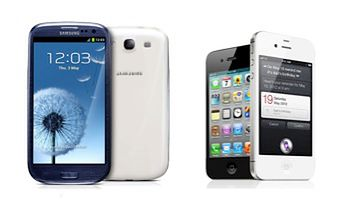Samsung Galaxy S III, Apple iPhone 4S