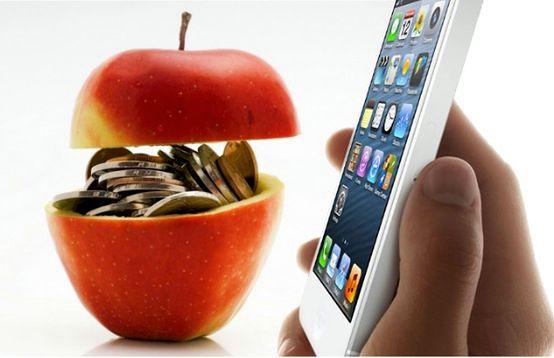 iPhone 5, fot. na podstawie zdj. VentureBeat, Apple