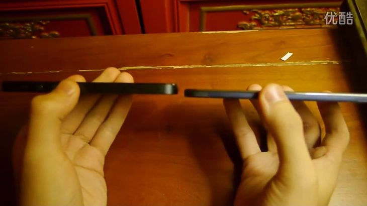 iPhone 5 i Vivo X3 (fot. youtube.com)