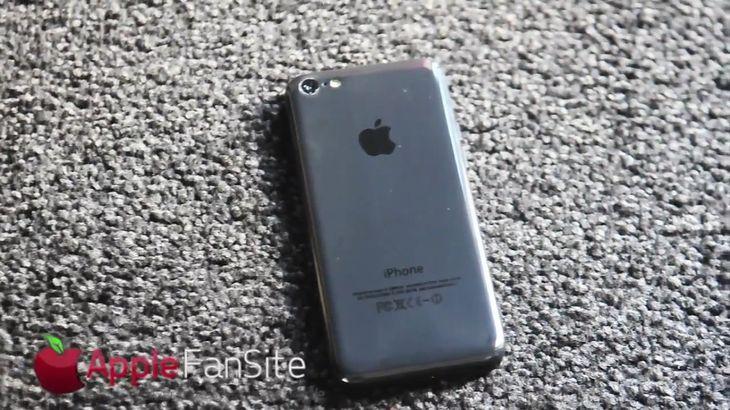 iPhone 5C (fot. youtube.com)