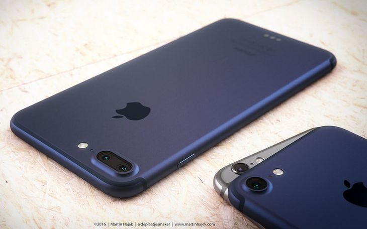 iPhone 7 Pro - wizualizacja
