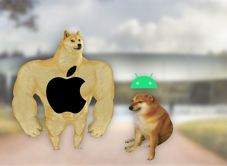 iPhone i smartfony z Androidem oczami Apple'a