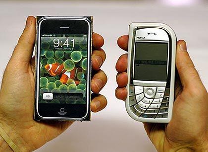 Lepszy iPhone czy Nokia 7610? (fot. kottke.org)