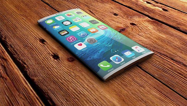 Koncept iPhone z ekranem OLED