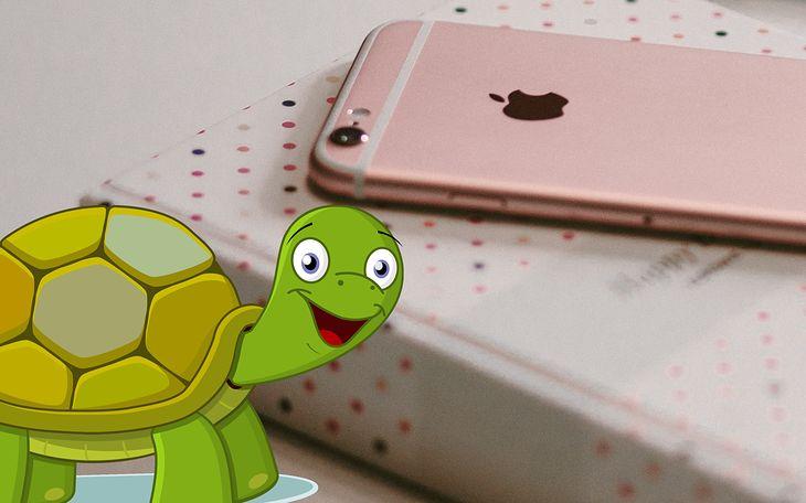 iPhone 6s zwalnia, gdy system wykryje zużytą baterię