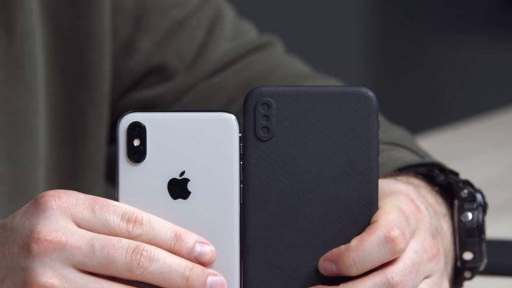 Tak wygląda atrapa iPhone'a X PLus zrobiona z użyciem drukarki 3D