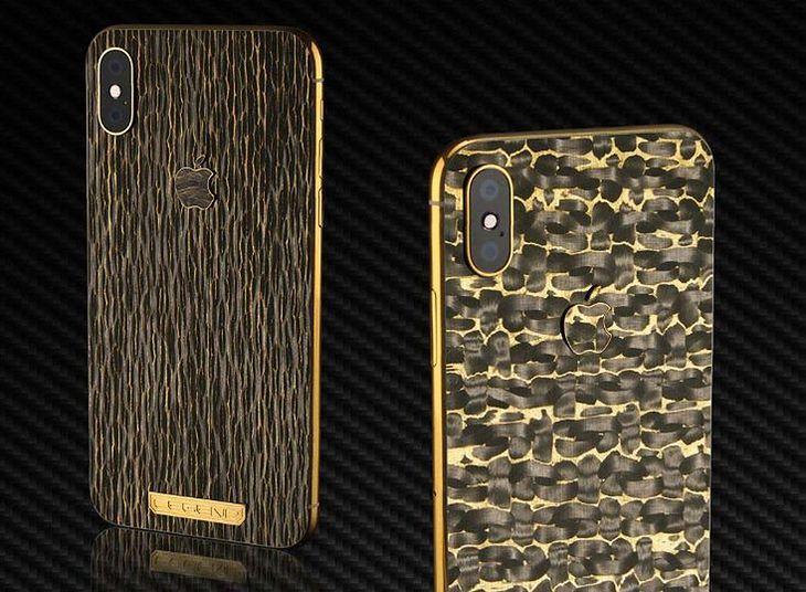 Legend wprowadza luksusowe iPhone'y XS