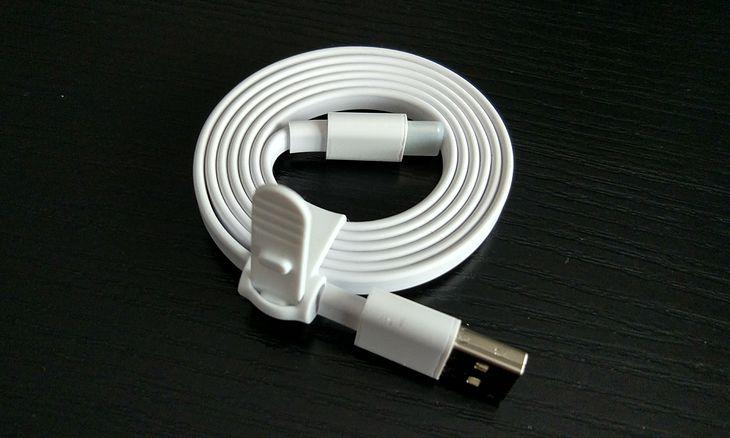 Kabelek USB dodawany do zestawu z ZTE Axon 7 mini