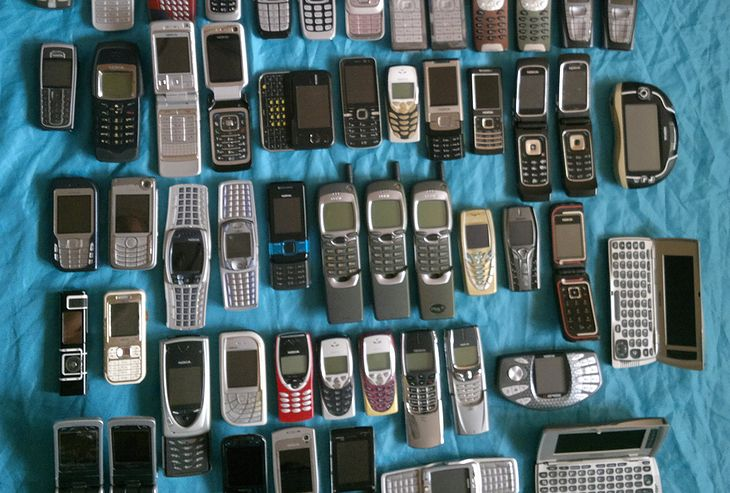 Wybitny Nasz czytelnik w dwa tygodnie zebrał kilkadziesiąt modeli Nokia FA81