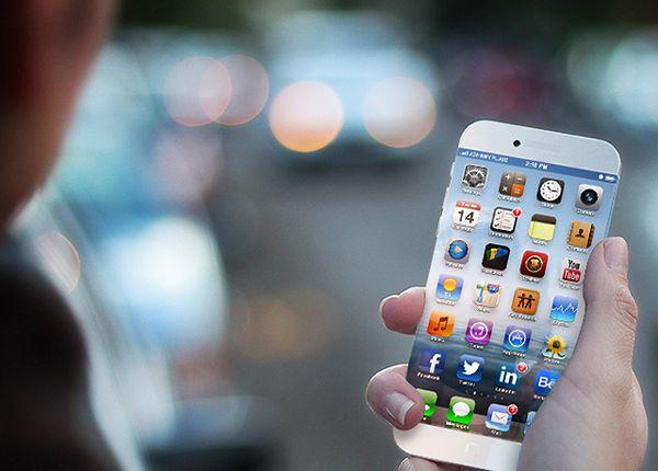 Koncept iPhone'a (fot. concept-phones.com)