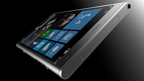 Koncept smartfona Nokia Lumia