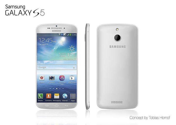 Koncept Samsunga Galaxy S5 (fot. concept-phones.com)
