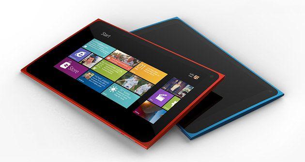Koncept tabletu Nokia Lumia (fot. techcorner)