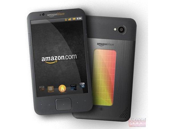 Koncept telefonu Amazonu (fot. androidpolice.com)