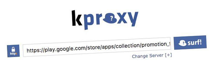 Kproxy google