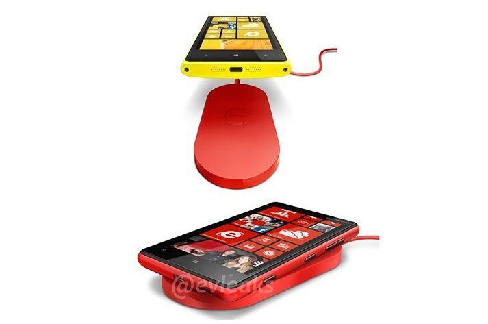 Ładowarka indukcyjna Nokia dla nowych Lumii 820 i 920 (fot. @evleaks)