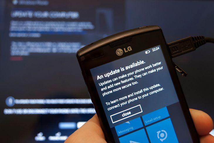 Aktualizacja Windows Phone 7