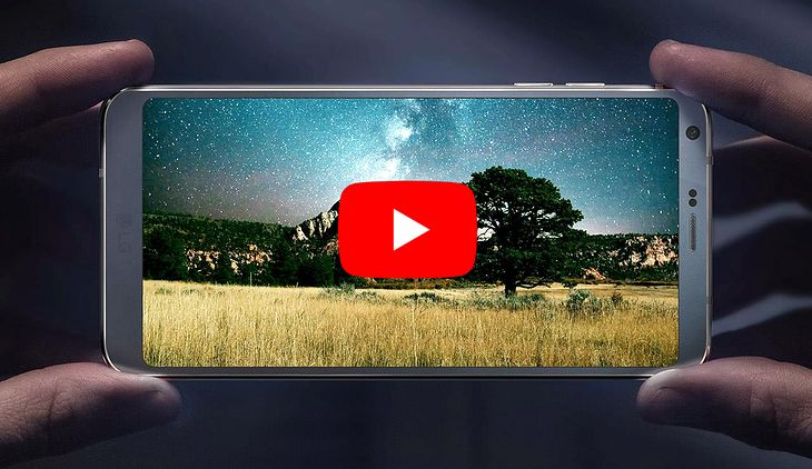 YouTube w końcu wypełni cały ekran LG G6 i innych smartfonów z ekranami 18:9