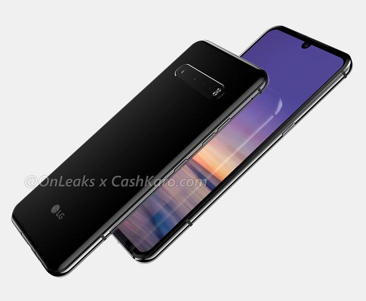 Tak ma wyglądać LG G9 ThinQ