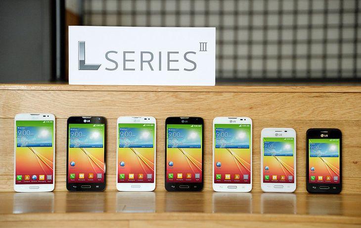 Smartony LG L Series III - LG L90, LG L70 i LG L40