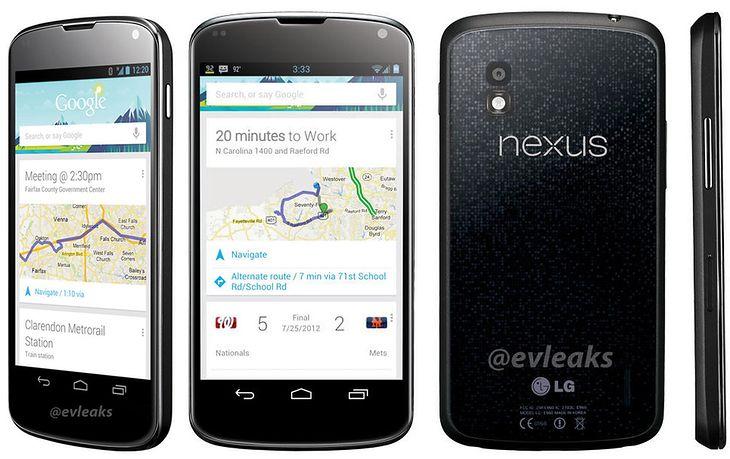 LG Nexus 4 | fot. Twitter @evleaks