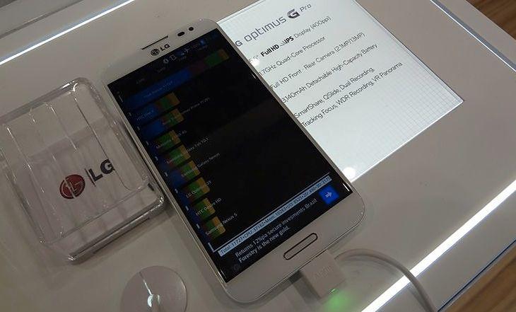 LG Optimus G Pro (fot. wł)